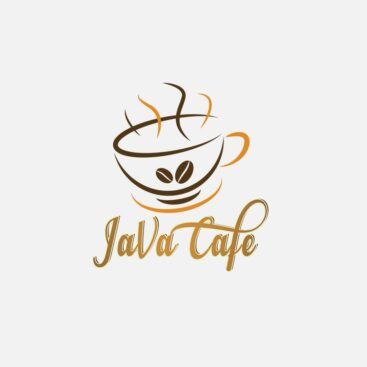 Java Cafe Logo - Sketched Impressions