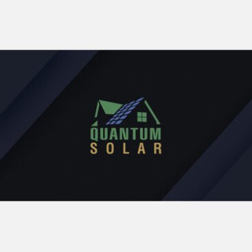 Quantum Solar Business Card Front and Back